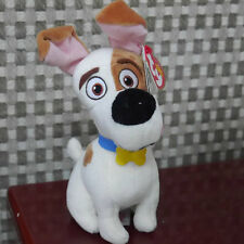 New Soft Toy Secret Life Of Pets MAX Ty Beanie Babies Baby Beanies Plush