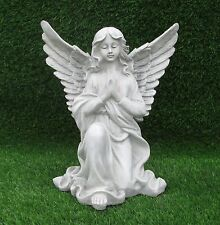 ANGEL KNEELING IN PRAYER MEMORIAL GRAVE CEMETERY or GARDEN ORNAMENT