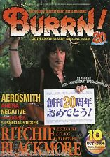 Burrn! Heavy Metal Magazine October 2004 Japan Blackmore's Night Angra Wintersun
