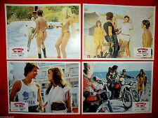 EASY ON THE WILD OF IBIZA 1980 SEXY TANJA SPIESS SIGGY GOTZ  EXYU LOBBY CARDS