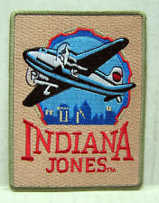 "Indiana Jones Retro Logo 4"" Embroidered  Patch- FREE S&H (IJPA-05)"