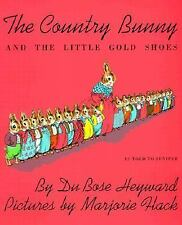 The Country Bunny and the Little Gold Shoes Book & Cassette Heyward, Dubose Pap