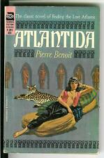 ATLANTIDA by Pierre Benoit rare US Ace fantasy Lost Atlantis gga pulp vintage pb