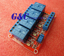 12V 4-Channel Relay Module with Optocoupler H/L Level Triger for Arduino M37