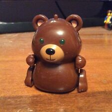 2002 Tomy MicroPets Kuma Bear Electronic Interactive Toy Works