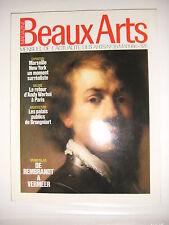 Beaux Arts Magazine N°35 Pommereuille Rembrandt Vermeir Peinture surréaliste