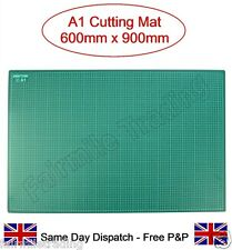 Size A1 High Quality Cutting Mat Non Slip Self Healing Printed Grid Craft Knife