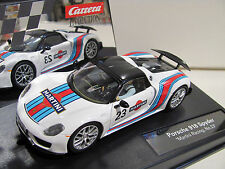 "Carrera Evolution 27467 Porsche 918 Spyder ""Martini Racing"" No.23 NEU und OVP"