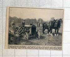 1923 Ploughing Match Held By Penshurst District Agricultural Society Tenbridge