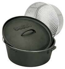 Bayou Classic Cast Iron 20-qt Dutch Oven