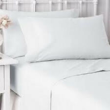 6  NEW  PILLOW CASES COVERS STANDARD SIZE 20''X30'' BRIGHT WHITE T-180 HOTEL