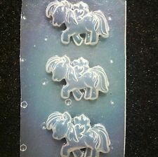 Resin Flexible Mold Pony Mould Craft Supplies