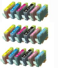 18 Pack Ink Cartridges w/ PC PM for BCI-6 CANON i960 i9100 i900D Pixma iP6000D