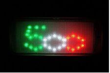 LUCE LED PLAFONIERA FIAT 500 CINQUECENTO TRICOLORE ORIGINALE INNER LED LIGHT