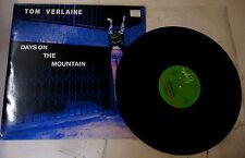 """LP 33 GIRI TOM VERLAINE """"DAYS ON THE MOUNTAIN"""" VS50112 VIRGIN 1982"""