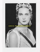 mm439 - Princess Marie Jose of  Belgium as Queen of Italy - Royalty photo 6x4 ""