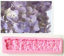 Silicone Hydrangea Mold Cookware Dining Bar Suger Fondant Wedding Cake Decor