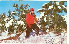 LUZERNE,MICHIGAN-GREETINGS-HUNTER-DEER-SNOW-RIFLE-(STORE-104)
