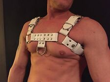 MENS HARNESS REAL 100% COWHIDE LEATHER GAY INTEREST