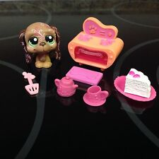 AUTHENTIC RARE LPS Littlest Pet Shop Bakery Oven Playset Basset Hound 1358 ONLY1