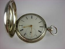 Antique rare Roskell Rack pin Lever English Fusee key wind pocket watch c.1810's