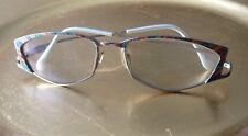 Vintage Cazal Eyeglass Frame Multicolor Gold Tone Metal Vintage Needs Notepads