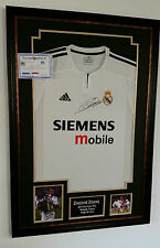 *** Rare ZINEDINE ZIDANE of Real Madrid Signed Shirt Display ***