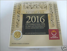 "Kms monedas de curso conjunto Austria Austria 2016 HGH ""National Bank 3,88 €"" - Blister"