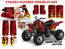 AMR RACING DEKOR GRAPHIC KIT ATV YAMAHA BANSHEE YFZ 350 MOTORHEAD MANDY B