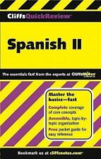 Spanish II Cliffs Quick Review Cliffs Quick Review Paperback v. 2 - Rodriguez, J