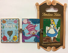 Disneyland Park Alice in Wonderland & Cheshire Cat Timeless Tales Disney LE Pin