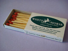 Matches Matchbook *~* The WHITE HORSE On Parson's Green ~ London Draft Beer Bar