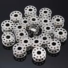 20pcs Metal Stainless Sewing Machine Bobbins For BROTHER TOYOTA JANOME SINGER