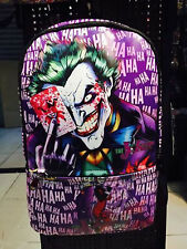 Batman Joker backpack cosplay DC bag SCHOOL SPORTS COMPUTER shoulder BAGNew