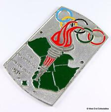 1950s Car Badge - Australian Olympic Games Melbourne 1956 - STREAMLUX