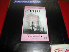 Pimsleur French I (level 1) comprehensive 16 audio cd course (euro edition)