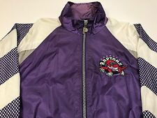 Vintage Toronto Raptors Jacket Old School VTG NBA Basketball Mens M L Coat