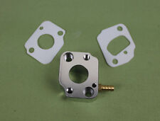 aluminum isolator carb block with teflon gasket for WYK33 carburator rc boat