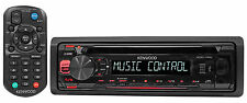 Kenwood KDC-115U In-Dash 1-Din Car CD Player Receiver Stereo MP3/USB/Aux+Remote