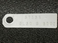 FORD 9 inch 3L50 POSI LIMITED SLIP TRACTION LOCK REAR END ID TAG MUSTANG