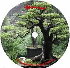 Bonsai 87 Books & 54 Video Tuts How to Plant Grow Prune & More Cd DVD