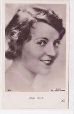 CPSM RPPC STAR DOLLY DAVIS  PHOTO STUDIO G.L. MANUEL FRERES 676