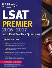 Kaplan Test Prep: Kaplan LSAT Premier 2016-2017 with Real Practice Questions...