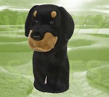 Rottweiller by Daphne's Large Novelty Golf Club Driver 1 Wood Headcover 460cc
