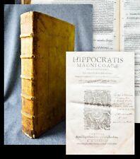 1588 Hippokrates Hippocrates Coacae praenotiones... graece et latine