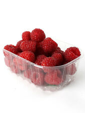 400 x Clear PET 1/2 Pound Fruit Punnet, ideal for fruit, nuts & berries.