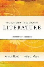 The Norton Introduction to Literature Portable Tenth Edition