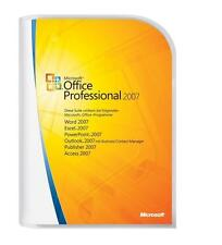 Microsoft Office 2007 Professional - Full Version - ( 3PCs ) Same Day Shipping!
