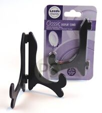 "Small Plate Stand : BLACK Classic Display 8-15cm, 3-6"" : Photo, Card etc NEW"