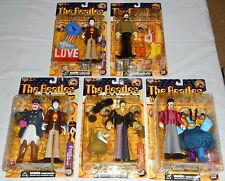 THE BEATLES YELLOW SUBMARINE LOT 5 MCFARLANE FIGURES GEORGE, JOHN, RINGO, PAUL